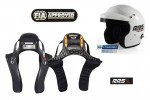 HANS Set HANS CLUB + RRS Jet Helm FIA