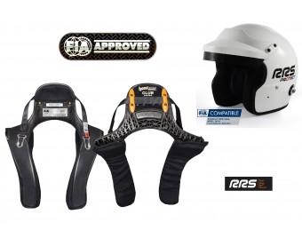 HANS Set HANS CLUB + RRS Jet Helm FIA