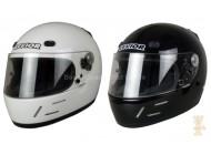 Helm F2 - schwarz/weiß mit Snell/ SA 2005