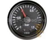 Ladedruck-Anzeige VDO cockpit Minus / Plus-Bereich