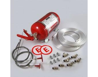 RRS ECOFIREX FIA Mechanischer Feuerlöscher 4,25l Komplettsatz
