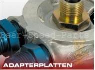 Adapterplatte D10  Ölkühlung